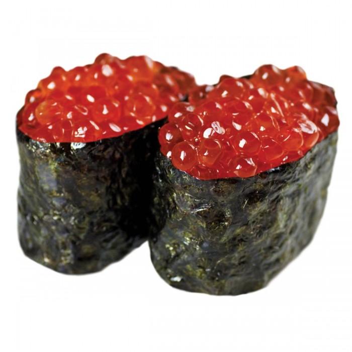 Sushi œuf de saumon