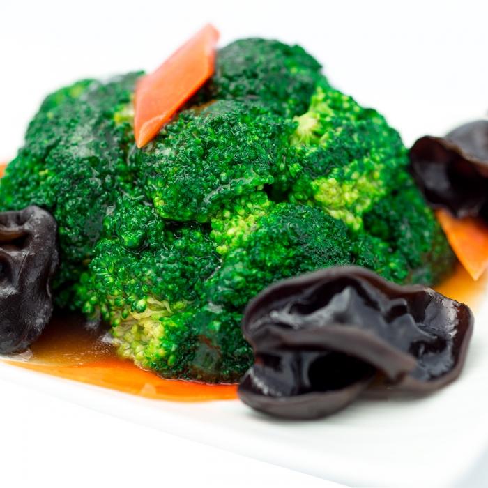 Brocolis sautés à la sauce d'huître