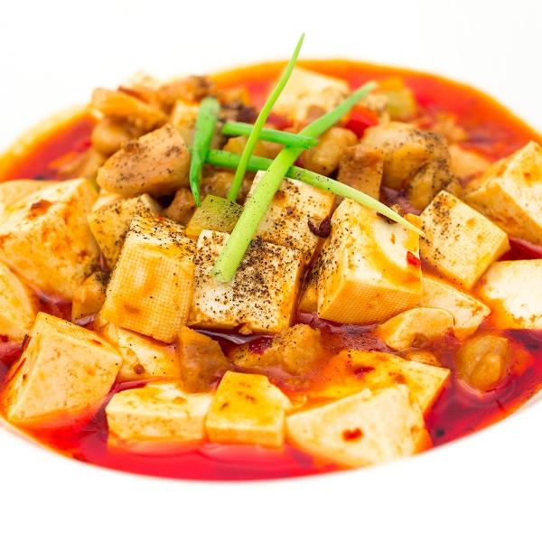 Tofu façon Mapo