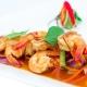 Crevettes sautées au basilic Thaï