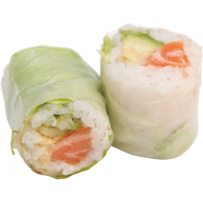 Spring roll saumon avocat