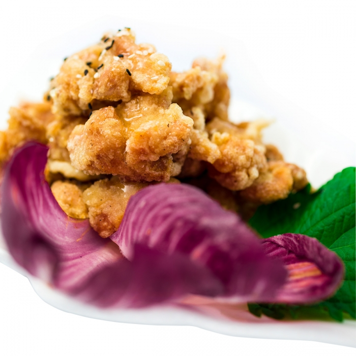 Poulet frit à la coréenne au miel