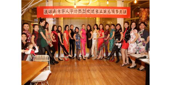 Défilé de robe traditionnelle chinoise Qipao - Panasia Les Docks Marseille