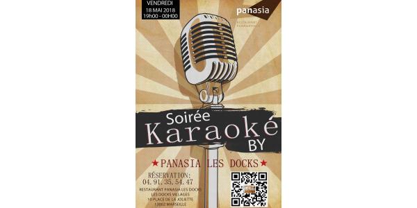 Soirée karaoké chez Panasia Les Docks Marseille vendredi 18 Mai 2018
