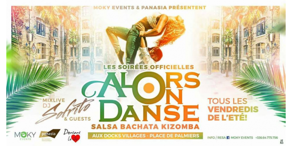 SALSA NIGHT panasia les docks MARSEILLE EVERY FRIDAY during all SUMMER 2018