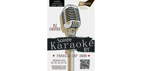 Karaoke Night by panasia 24th august 2019