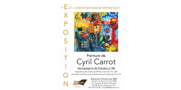 [EXPOSITION CYRIL CARROT]