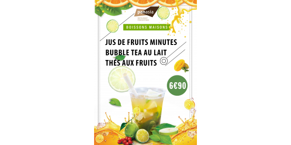 Panasia cap3000 - New refreshing drinks - summer 2020