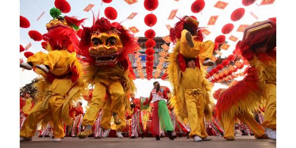 Nouvel an chinois est a l'honneur ce weekend au Docks village!